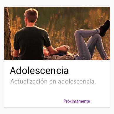 Curso online Asolescencia