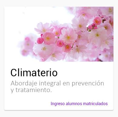 Curso online Climaterio