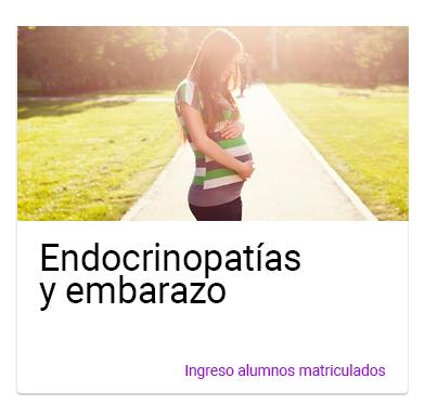 Curso Endocrinopatía y embarazo