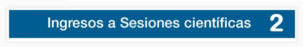 Sesiones científicas